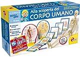 Liscianigiochi 41602 Piccolo Genio - Juego de anatomía (versión en italiano)