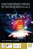 img - for Contemporary Issues in Tax Research (Volume 2) book / textbook / text book