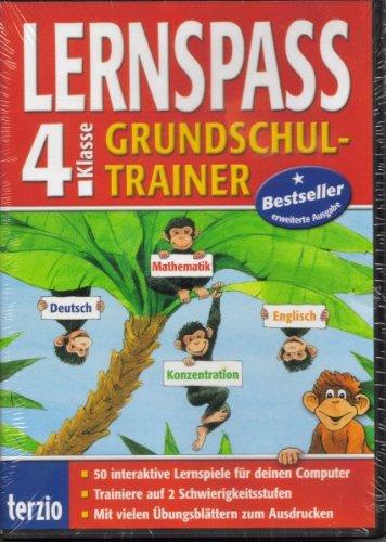 LERNSPASS Grundschultrainer 4. Klasse DVD-Pack