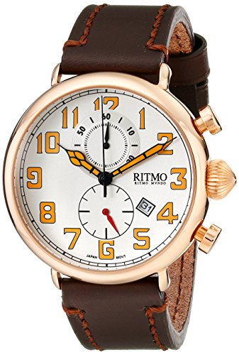 Ritmo-Mundo-Unisex-7052-RG-Turismo-Analog-Display-Quartz-Brown-Watch