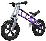 FirstBIKE - Bicicleta de equilibrio con freno, modelo Cross, color violeta (L2014)