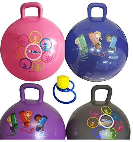 Hippity-Hop-45-Cm-Including-Free-Foot-Pump-For-Children-Ages-3-6-Space-Hopper-Hop-Ball-Bouncing-Toy-1-Ball