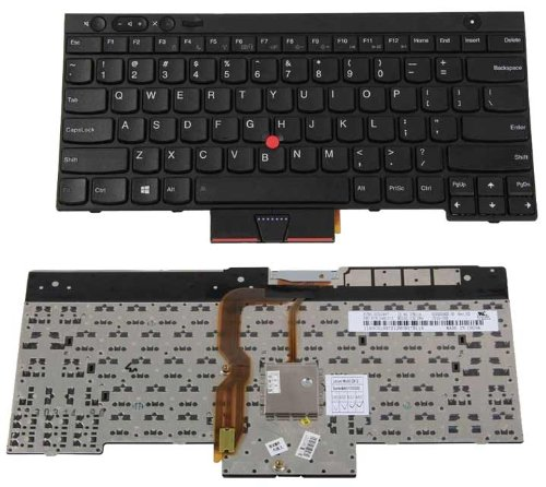 Click to buy New US Laptop Keyboard Black for IBM Lenovo Thinkpad T430 T430S T430i L430 L530 T530 T530S T530i W530 X230 X230i P/N: 04X1315 0C01997 - From only $129