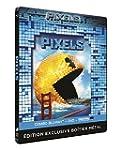 Pixels - Blu-ray Steelbook + Combo bl...