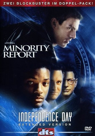 Minority Report / Independence Day [2 DVDs]
