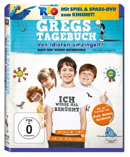 Gregs Tagebuch - Von Idioten umzingelt! (+ Rio Activity Disc) [Blu-ray]