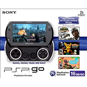 PSPgo - Piano Black: Sony PSP: Video Games