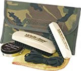 Army Cadet Boot Care Kit 2 Brushes Polish Laces British DPM Camo