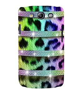 horzontal stripped multicoloured pattern 3D Hard Polycarbonate Designer Back Case Cover for Samsung Galaxy S3 :: Samsung Galaxy S3 i9300