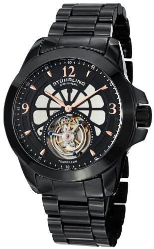 Stuhrling-Original-Mens-47533OB41-Tourbillon-Specter-Limited-Edition-Mechanical-Black-Ceramic-Watch