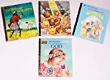 img - for Little Golden Books Set of 4 ~ Religious book / textbook / text book
