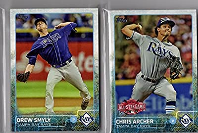 2015 Topps Series 1 & 2 & Update Tampa Bay Rays Team Set 30 Cards
