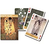 Piatnik Gustav Klimt Artist Single Deck Austrian Playing Cards 1615 Paintings
