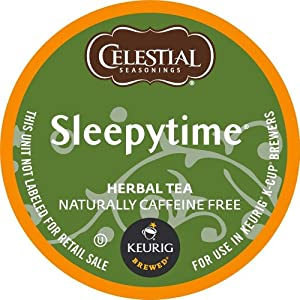 Celestial Seasonings Sleepytime Herbal Tea, K-Cup Portion Pack for Keurig K-Cup Brewers, 96 Count