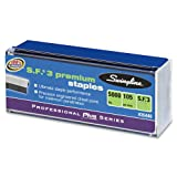 Swingline S.F. 3 Premium Chisel Point Staples, 0.25 Inch Leg Length, 105 Count Half Strips, Silver, 5000 Staples per Box (S7035440)