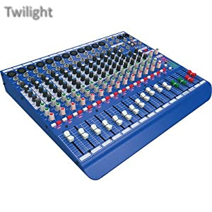 Midas DM16 16-Input Analog Live and Studio Mixer with Microphone Preamplifier