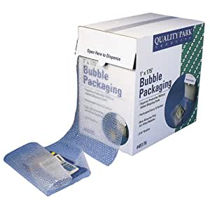 Quality Park Perforated Bubble Packaging, 12 x 175 Feet, Clear, 1 Roll (45176)