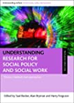 Understanding research for social pol...