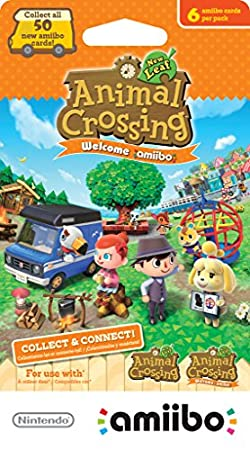 Nintendo Animal Crossing: New Leaf Welcome amiibo cards 6-Pack - Nintendo 3DS