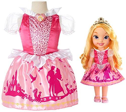 Disney Princess Toddler Doll With Dress: Disney Princess Toddler Doll & Dress Combo Aurora $49.99