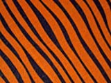 FROSTIES TIGER ANIMAL PRINT STRETCH VISCOSE JERSEY FABRIC MATERIAL - PER METRE