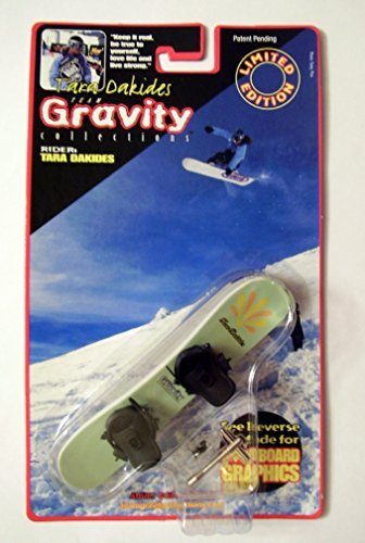 Tara Dakides Team Gravity Collectors Finger Snow Board (Green) - 1