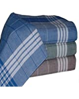 Tobeni® 20 Men's Handkerchiefs Arabias to work 40 x 40 cm brown blue green