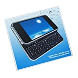 iPhone4専用 スライド式キーボード Ultra-thin Slide-out Wireless Keyboard