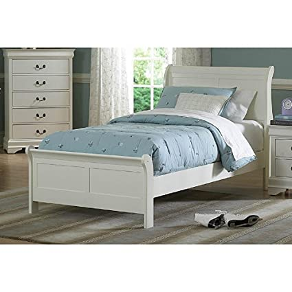 Youth Bedroom Full Bed White By Homelegance Furniture
