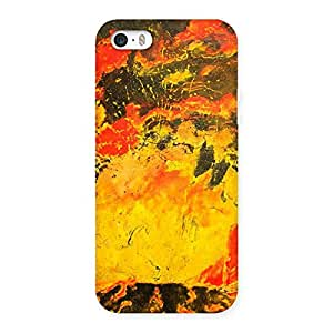 Modern Art Paint Designer Back Case Cover for iPhone SE