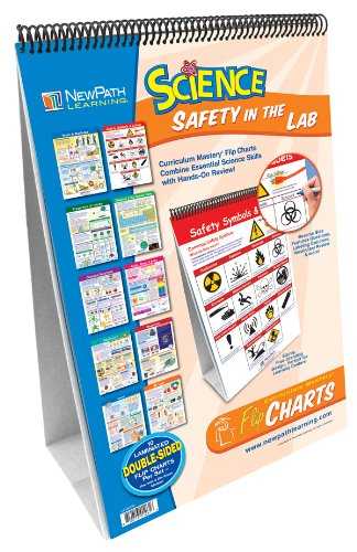 NewPath Learning 10 Piece Science Safety in the Lab Curriculum Mastery Flip Chart Set, Grade 5-10 (Hygiene Chart compare prices)