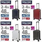 SPALDING(スポルディング)スーツケース 35L【SP-0707-48】 (レッド)