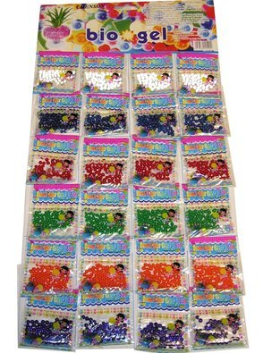 Gadgets Hut UK™ Water Crytal 24 Bags Jelly Beads Crystal Balls