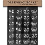 Dress My Cupcake Chocolate Candy Mold, Bows
