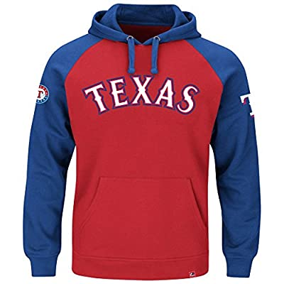 Texas Rangers Raglan Hoodie Grand Slam Pullover