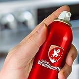 Kleiner Brandmeister® Feuerlöschhhelfer - Design Löschspray - Feuer richtig und