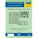 K2 - Konzentrationstraining - Teil 2: Die Aufmerksamkeit schulen - visuelle Wahrnehmung / Formkonstanz / Größenkonstanz...