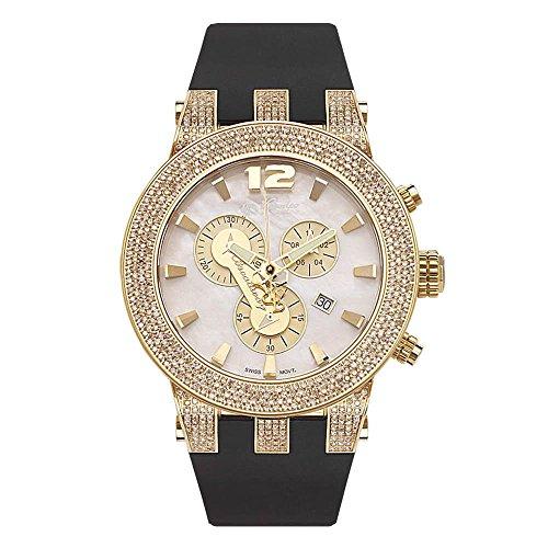 Joe Rodeo diamante orologio da uomo-Broadway Oro 5Cassette