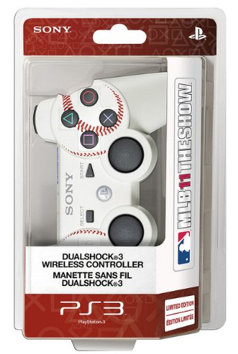 PS3 DualShock 3 Wireless Controller - MLB 11 The Show Edition at Amazon.com