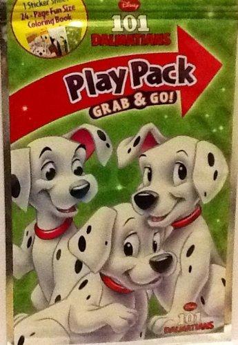 Play Pack Grab & Go! Mini Set~ Disney 101 Dalmatians ~ Crayons ~ Stickers ~ Coloring Book front-109749