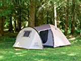 Outbound Outpost Long 5 Person Tent (Brown, Medium)