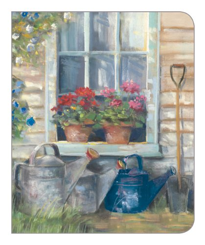 legacy hardcover 3 ring address book window and watering cans adb9679
