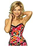 Vollers Flirty Floral Cotton Overbust Corset