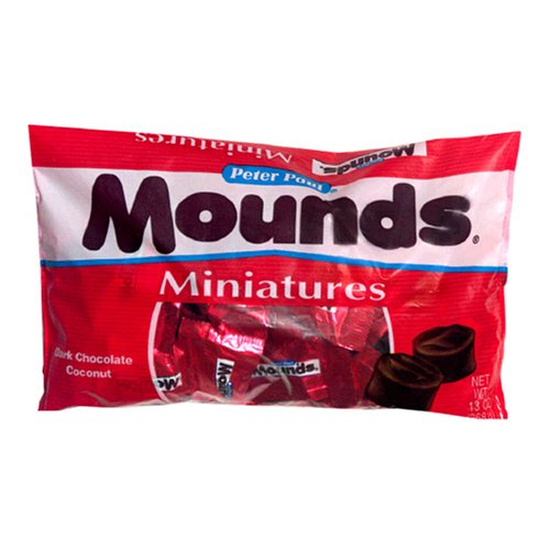 Buy Peter Paul Mounds Candy Bars, 13-Ounce Bag (Pack of 4) (Hershey's, Health & Personal Care, Products, Food & Snacks, Snacks Cookies & Candy, Candy)