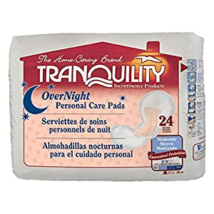 Tranquility Personal Care Pads [OVERNIGHT PERSONAL CARE PAD] [CS-96]