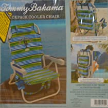 Tommy Bahama Backpack Cooler Chair -Striped
