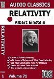 51WZ4P95cIL. SL160  ALBERT EINSTEIN Relativity:  3 cd Unabridged Audio Set | Big Value Small Sum
