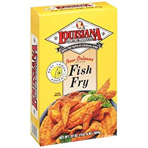 Louisiana fish fry products new orleans style for How to season fish for frying