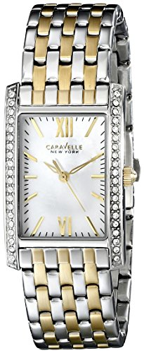 Caravelle New York Women's 45L138 Two-Tone Stainless Steel Watch