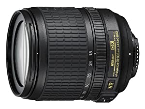 Nikon AF-S DX NIKKOR 18-105mm f/3.5-5.6G ED Vibration Reduction Zoom Lens with Auto Focus for Nikon DSLR Cameras